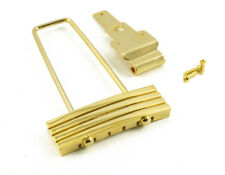 KLUSON Gold TRAPEZE Archtop TAILPIECE CHROME fits Gibson KLTP G