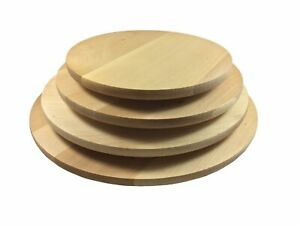 Drehteller Drehplatte Holz 4 VARIANTEN Pizzateller Vesperteller Käseteller