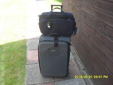 REVELATION wheeled cases black  65L + NEW cabin shoulder bag with sleeve