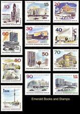 EBS West Berlin 1965-1966 Scenes of Modern Berlin Michel 254-265 MNH**