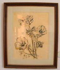 Vtg 1976 Paul Richards Signed Original Artwork WaterColor Serigraph 33 x 27 1/2