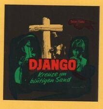 "KINODIA - FILMDIA - WERBEDIA ca. 8x8 cm - "" DJANGO - KREUZE IM BLUTIGEN SAND """