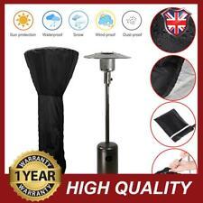 TJFU Rain Waterproof Black Garden Outdoor Heater Cover Patio Multisize Protector