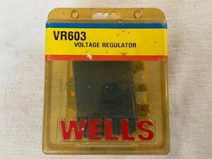 New (Older Stock) Wells Alternator Voltage Regulator VR603 Ford Mercury Lincoln