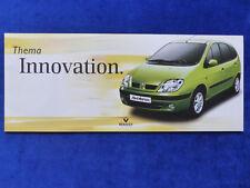 Renault Sondermodelle - Scenic Kangoo Twingo Clio - Prospekt Brochure 08.1999