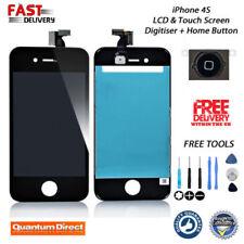 Recambios negro Apple Para iPhone 4s para teléfonos móviles