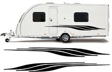 MOTORHOME/CARAVAN VINYL GRAPHICS KIT DECALS STICKERS STRIPES #66XL FAST POST