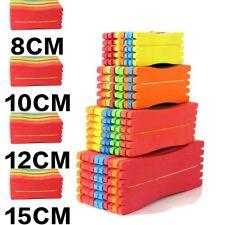 50 Pieces Square Winding Line Board Fishing Foam Sponge Plate 8cm 10cm 12cm 15cm