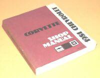1981 Chevy Corvette Factory Service Shop Manual Repair Book