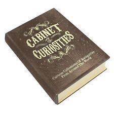 Cabinet de curiosités caché Livre Boite rangement TOUT NOUVEAU Fantaisie Cadeau