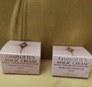 Charlotte Tilbury Charlotte's Magic Cream Instant Turnaround Moisturiser 7ml X 2