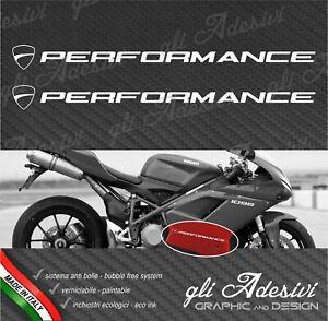 2 Adhesives Hip Fairing Motorcycle DUCATI Performance New 1098