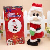 Twerking Santa Claus Doll Singing Dancing Twisted Hip Cute Christmas Toy HOT