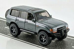 Toyota Land Cruiser 80 > Dark Gray > Hot Wheels > 2021 > Mint Loose