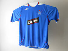 UMBRO XL Glasgow RANGERS Scotland CARLING Soccer Football Short Sleeve Shirt