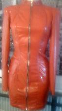 THE FEDERATION RUBBER LATEX SLEEVED  DRESS BRAND NEW CROSS DRESS