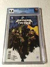 Batman And Two-face 28 Cgc 9.8 Steampunk Variant New 52 Batman And Robin
