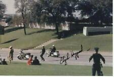 CLYDE HAYGOOD Signed Photo JFK JOHN F KENNEDY ASSASSINATION AUTO COA