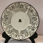 Saint Graal Intimate Limoges Rimmed Soup Bowl Sterling Silver Overlay W/ Label