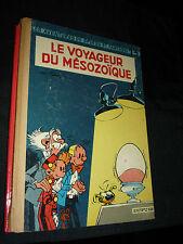 SPIROU ET FANTASIO 13 LE VOYAGEUR DU MESOZOIQUE TRES RARE 1960