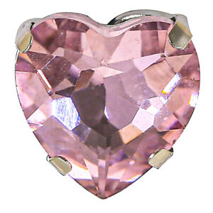 Pink Color Crystal Buckle Rhinestone Silver Base Glass Sew On Stones Accessories