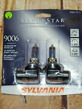 SYLVANIA 9006 SilverStar High Performance Halogen Headlight Bulb,55W Pack of 2