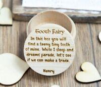 Tooth Fairy Box Children Surprise Gift Message