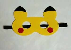 Pikachu Mask For Pretend Play/costume etc.Pokemon Go