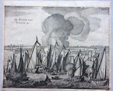 1652 DE SLACH OPT SLAECK 1631 Commelin Battle Slag op het Slaak Volkerak Zeeland