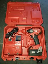 "MILWAUKEE 2653-20 FUEL 1/4"" IMPACT DRIVER  M18 Drill, Battery, Charger, & Case"