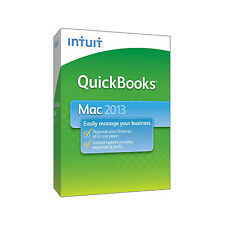 Intuit QuickBooks 2013 (Retail (License + Media)) (1) - Full Version for Mac...