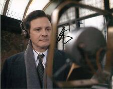 "COLIN FIRTH SIGNED AUTOGRAPHED KING'S SPEECH 8""x10"" PHOTO W/ COA OSCAR WINNER"