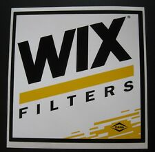 NASCAR Race Car Auto Racing Wix Decal Vintage Sticker Tool Box Rod Man Cave