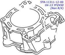 Yamaha OEM Engine Cylinder YFZ450 Non-R YFZ 450 04-13 2004-2013 5TA-11311-12-00