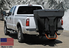 SPREADER Commercial - Salt & Sand  Tailgate Mounted - V-Box w/Auger - 825 Lb Cap