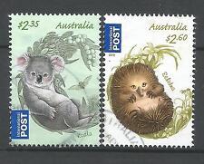 ˳˳ ҉ ˳˳AUI10 Australia International set 2013 High Values Koala Echidna Babies