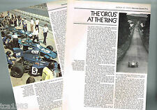 vintage GERMAN GRAND PRIX History Article / Photos / Pictures: Formula One, F-1