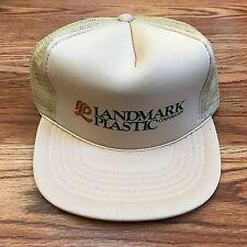 Landmark Plastic Corporation Trucker Hat Cap Mesh Adjustable Snapback Adult