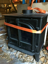 Stovax Stockton 8KW Wood Burner with boiler