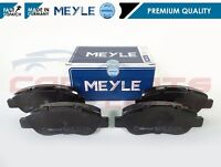 FOR FIAT PANDA 1.2 1.3 D 169 2003- MEYLE GERMANY FRONT BRAKE PADS SET 77362689