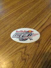 RED BULL INDIANAPOLIS MOTO GP SMALL RACING DECAL 8/9/2015 FREE US SHIPPING
