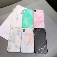 Pastel Marble Granite Pattern Matte Soft Gel For Smart Phone Cover Case Skin