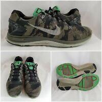 Nike Lunarglide+5 Mine Black Camo Running Trainer 599469-001 Men's Shoes Size 10