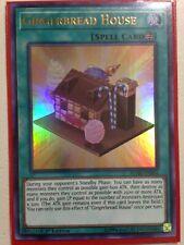 1st Edition Near Mint Ultra Rare BLHR-EN004 YUGIOH x 3 Gingerbread House