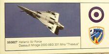 """Herpa 1:200  Hellenic Air Force Dassault Mirage 2000  """"Theseus""""-  5535827"""