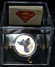 "2013 CANADA $15 FINE SILVER SUPERMAN Coin Full Colour ""MODERN DAY"" 75th Anniv."