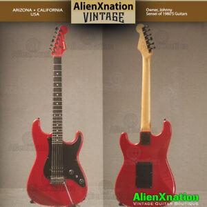 1986 Red Allan Holdsworth Fernandes Guitar