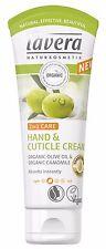 Lavera 2 in 1 Care Hand & Cuticle Cream 75ml - Organic Olive Oil & Camomile