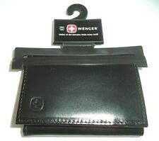 Swiss Army Premium Leather Trifold Wallet,Black-See Description for Pictures