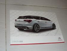 2012 Citroen DS5 brochure 1.6i THP HDi 2.0 n C6 Xantia XM CX DS3 DS4 BX 2CV GS